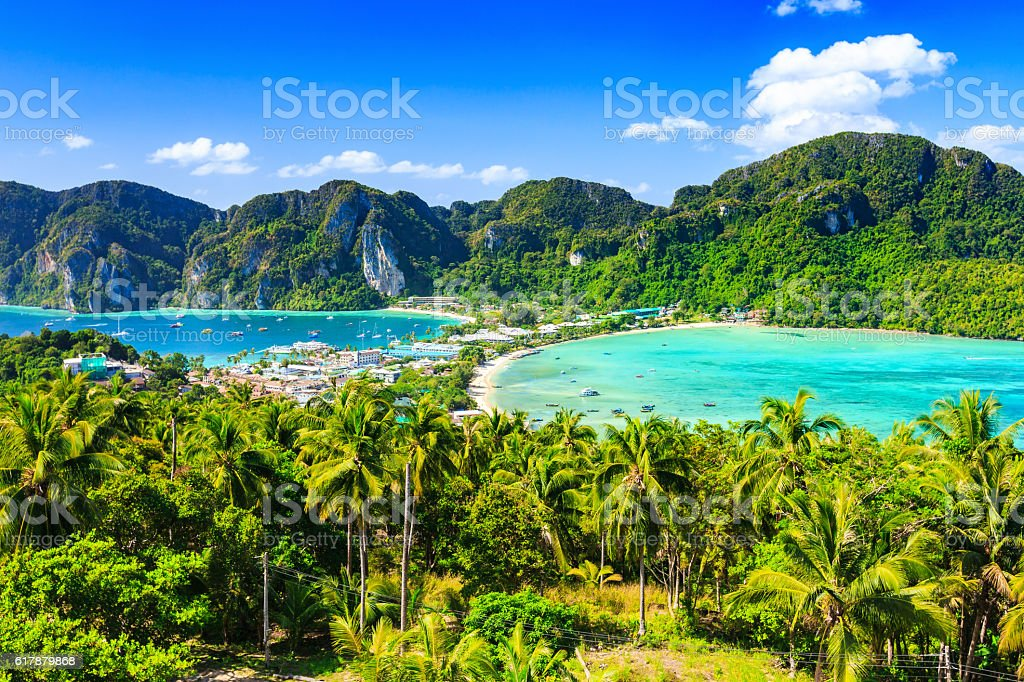 Thailand, Phi Phi Don stock photo
