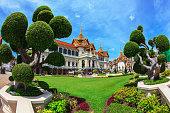 The Big Royal Palace in Bangkok.