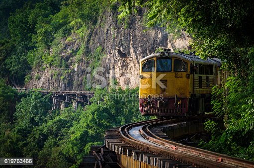 Special trains Krasae Bridge Caverns