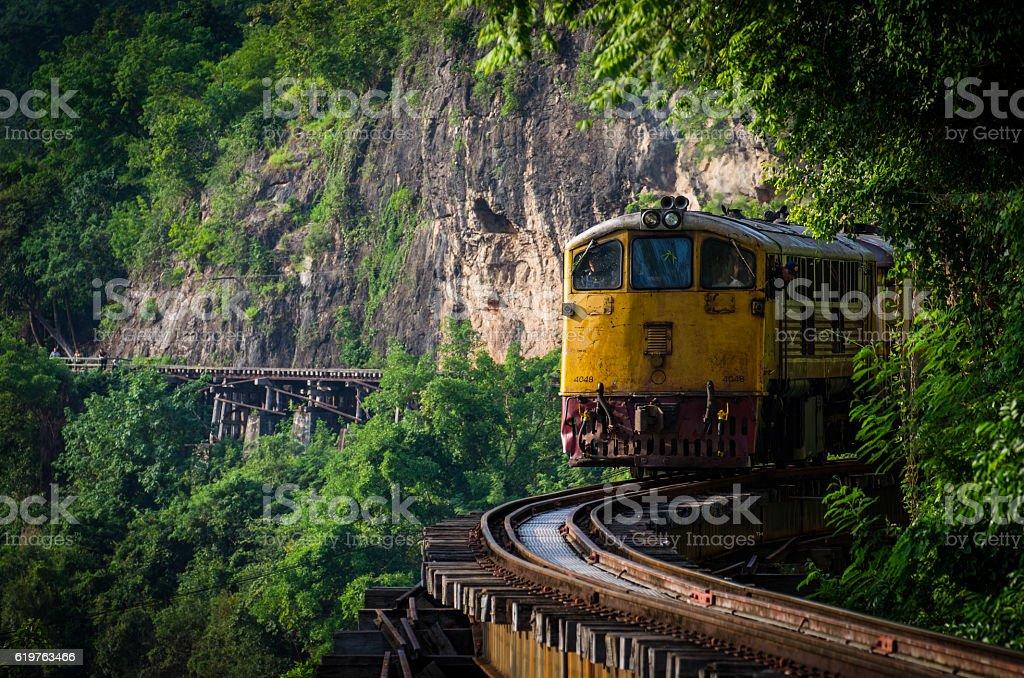 Thailand Railway stock photo