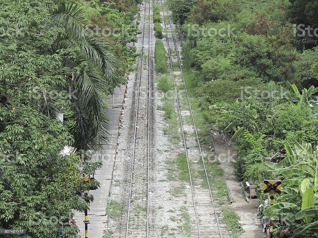 Thailand railways 2 royalty-free stock photo