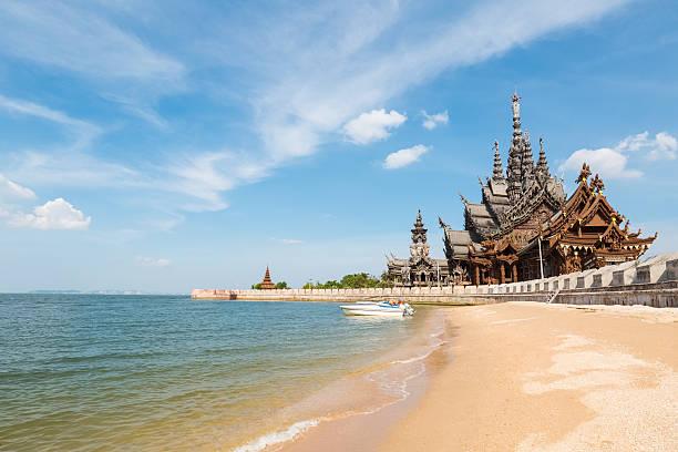 thailand Landschaft im sanctuary of truth – Foto