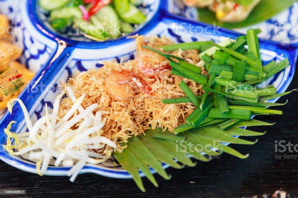 Comida Callejera De Tailandia Mi Krop Tradicional Tailandés