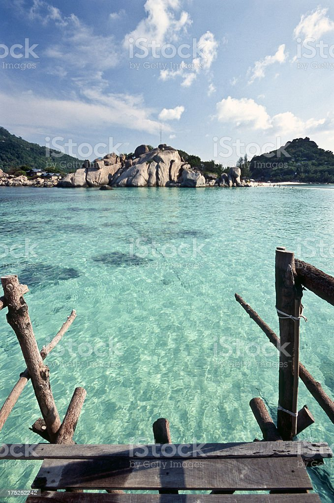 Thailand, Surat Thani Province, Ko Nang Yuan islets. royalty-free stock photo