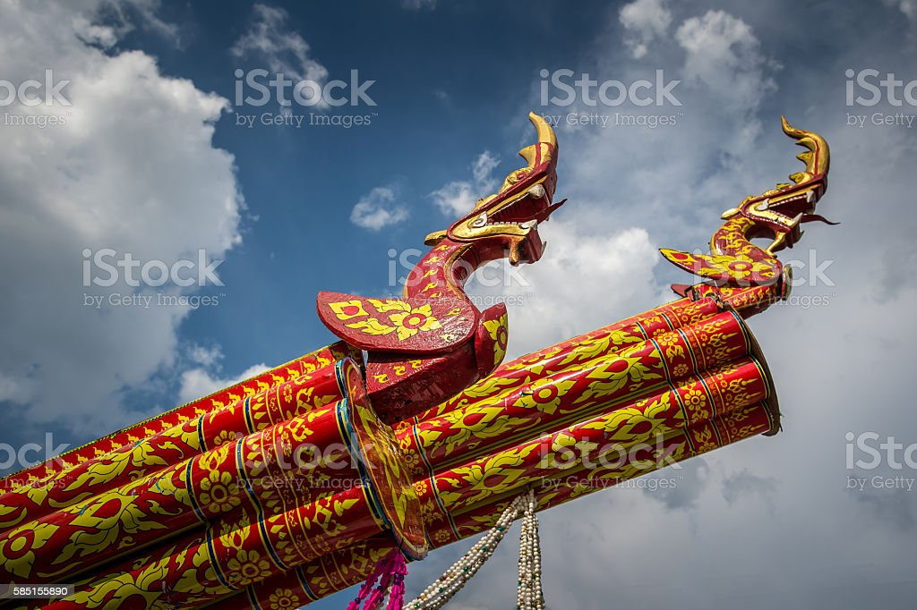 Thailand Traditional rocket stock photo