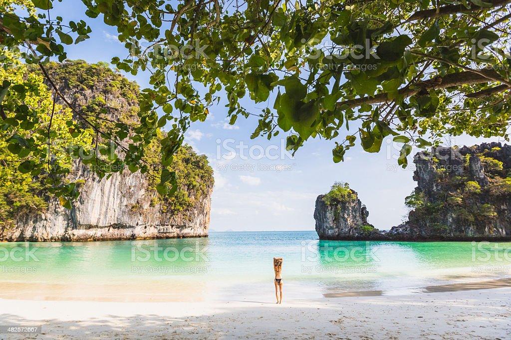 Thailand Tropical Island stock photo