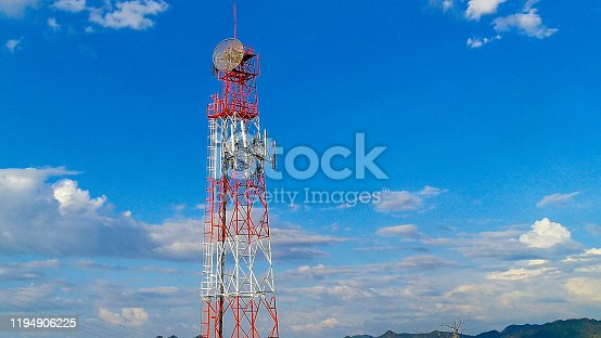 1145453438istockphoto Thailand, USA, 5G, Antenna - Aerial, Architecture 1194906225