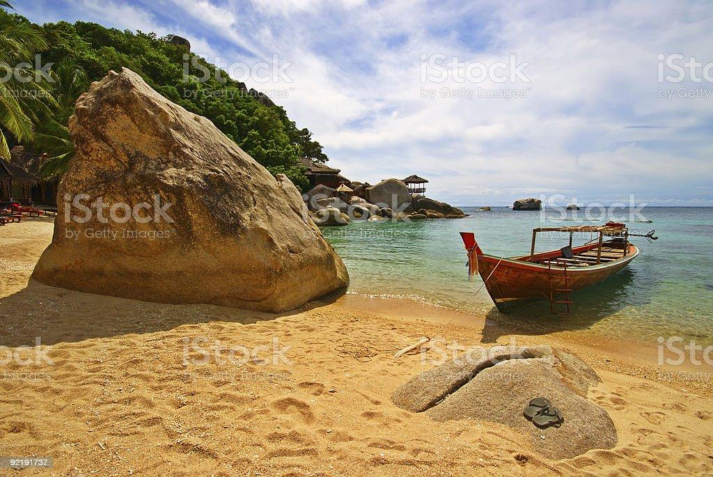 Thailand Vacations Scene royalty-free stock photo