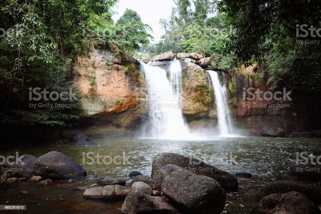 Thailand Waterfall zbiór zdjęć royalty-free
