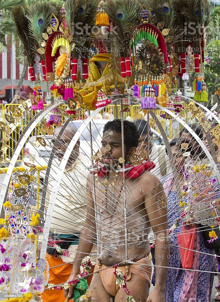 Thaipusam Festival stock photo