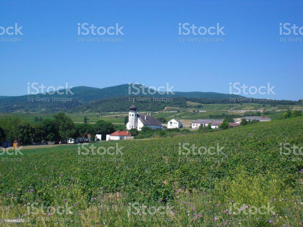 Thallern, ländliche Siedlung, Niederösterreich, Oak Hill – Foto
