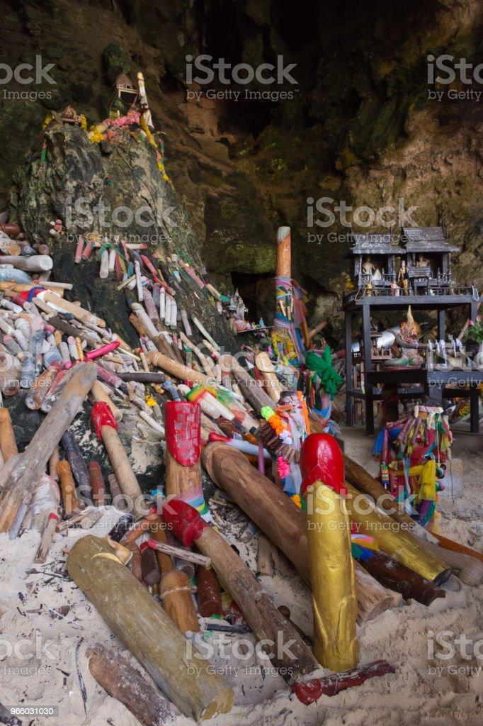 Tham Phra Nang Cave - Lizenzfrei Berg Stock-Foto