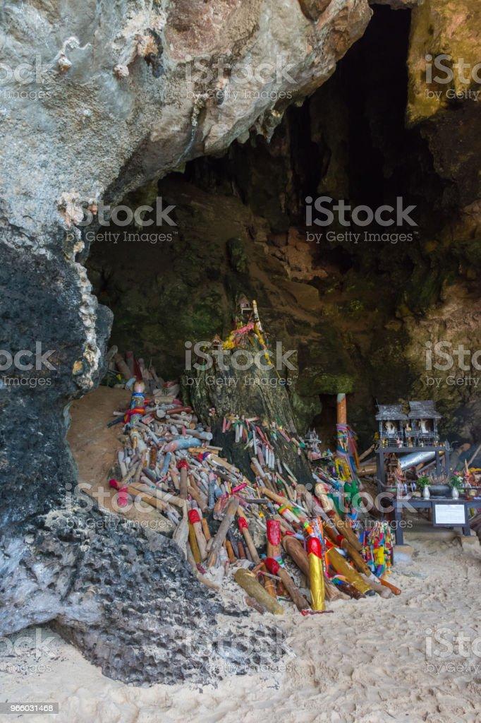 Tham Phra Nang Cave - Royalty-free Beauty Stock Photo