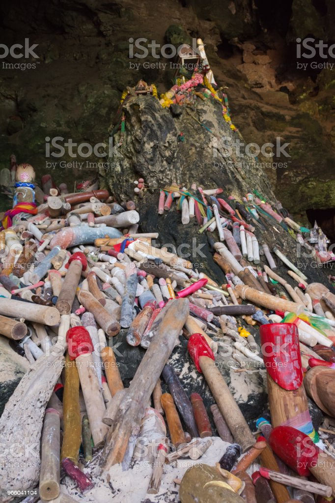 Tham Phra Nang Cave - Royalty-free Beauty Stock Photo