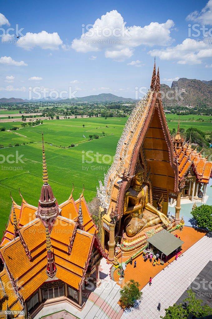 Tham Sue Temple stock photo