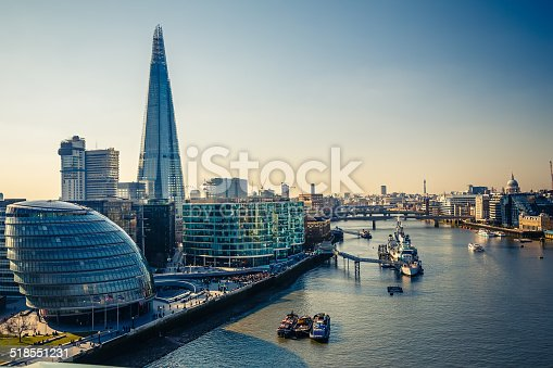 istock Thames and London City 518551231
