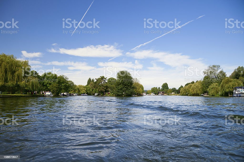 Thames river royalty-free stock photo