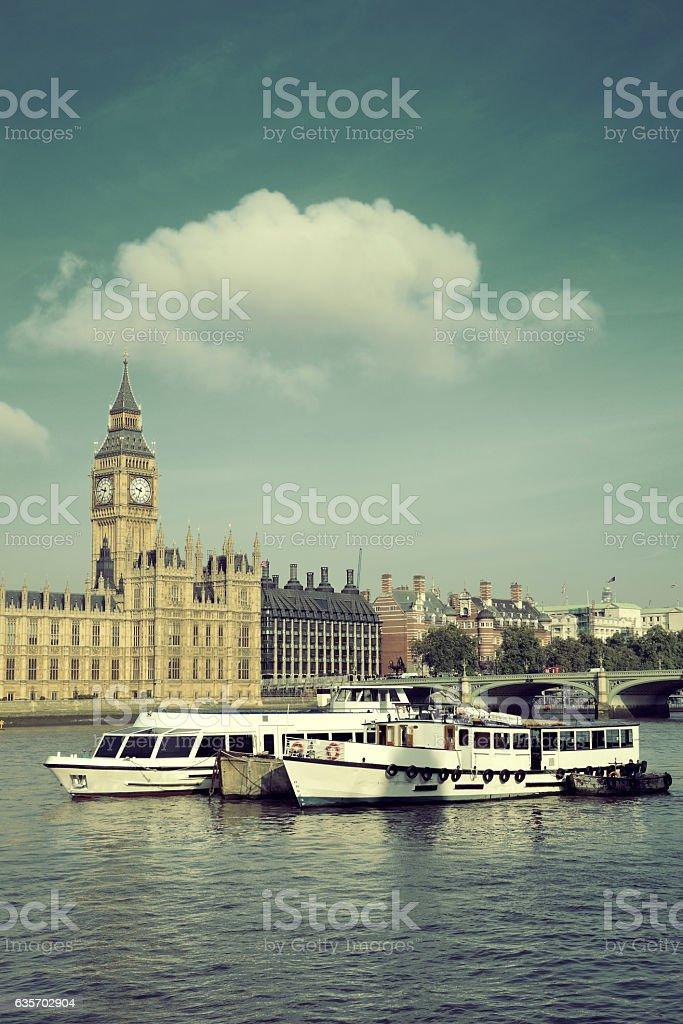 Thames River royalty-free stock photo