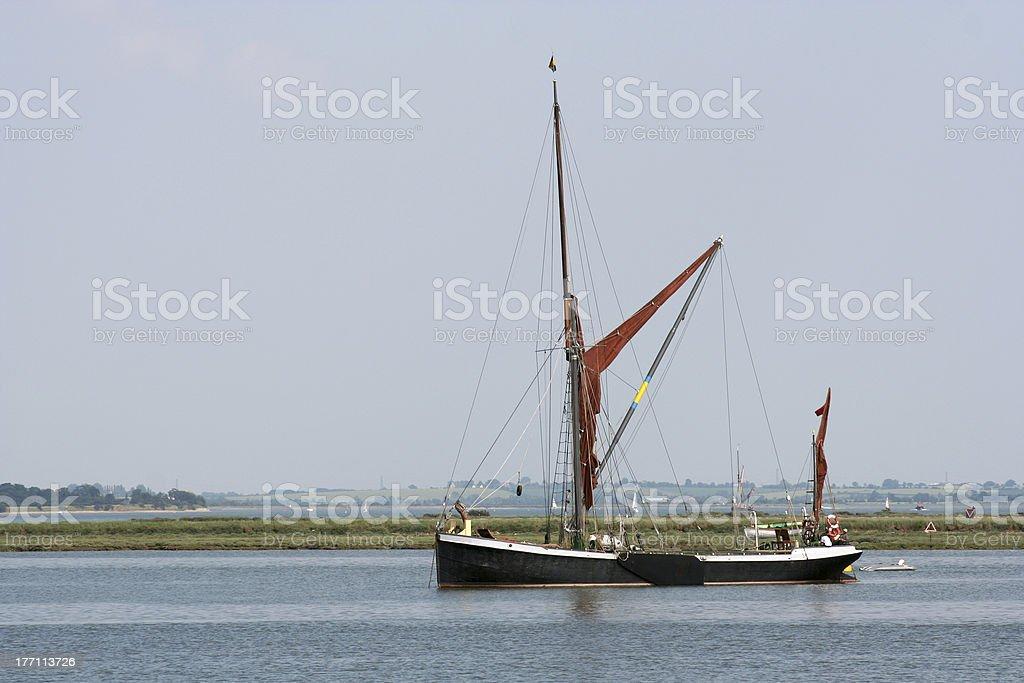 Thames Sailing barge 2 royalty-free stock photo