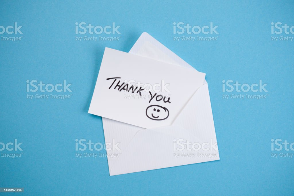 Thank You - Concept stock photo