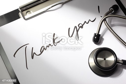 istock Thank You Doctor 471430093