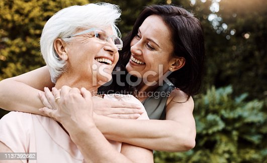 istock Thank you for showing me the real meaning of love 1137392662