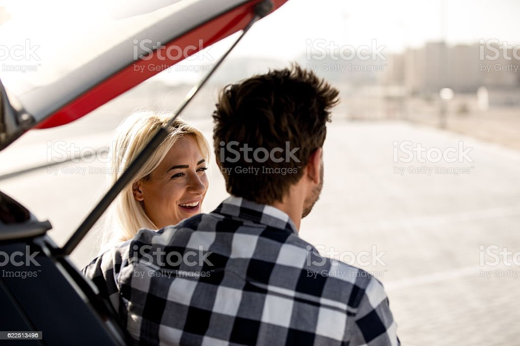 Thank you for this beautiful journey stock photo