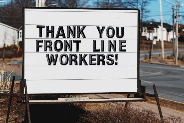Merci aux travailleurs de première ligne - Photo