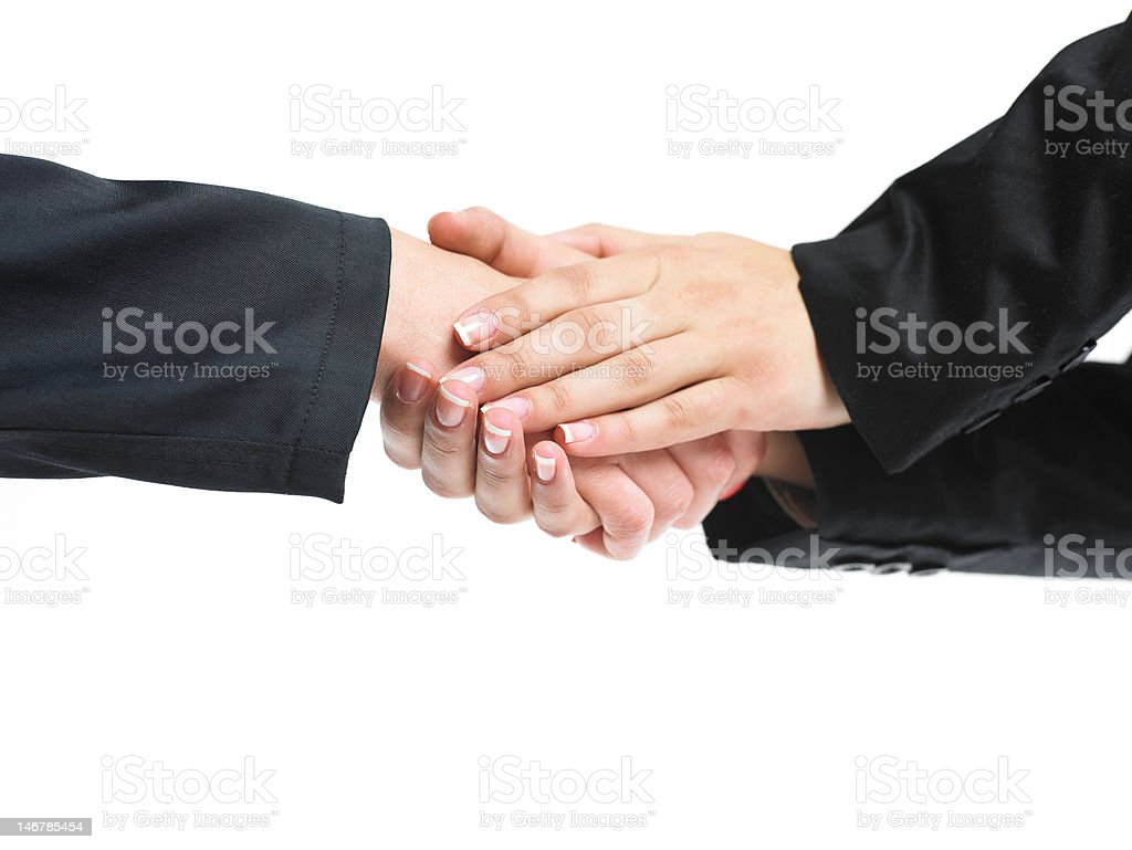 Thank you gesture royalty-free stock photo