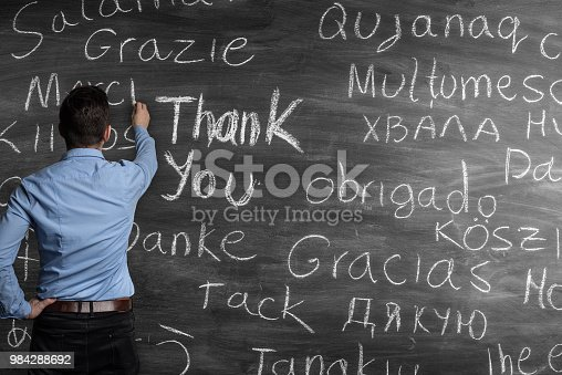 istock Thank You in many languages 984288692