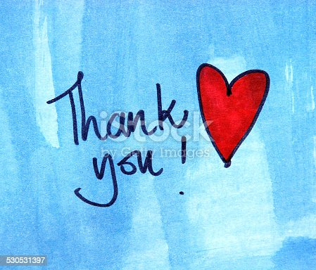 istock Thank you message 530531397