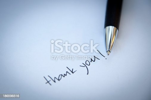 1050881964 istock photo Thank you note 186596516