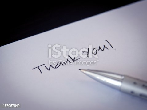 1050881964 istock photo Thank you note 187067642