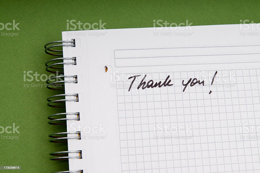 thank you ! royalty-free stock photo