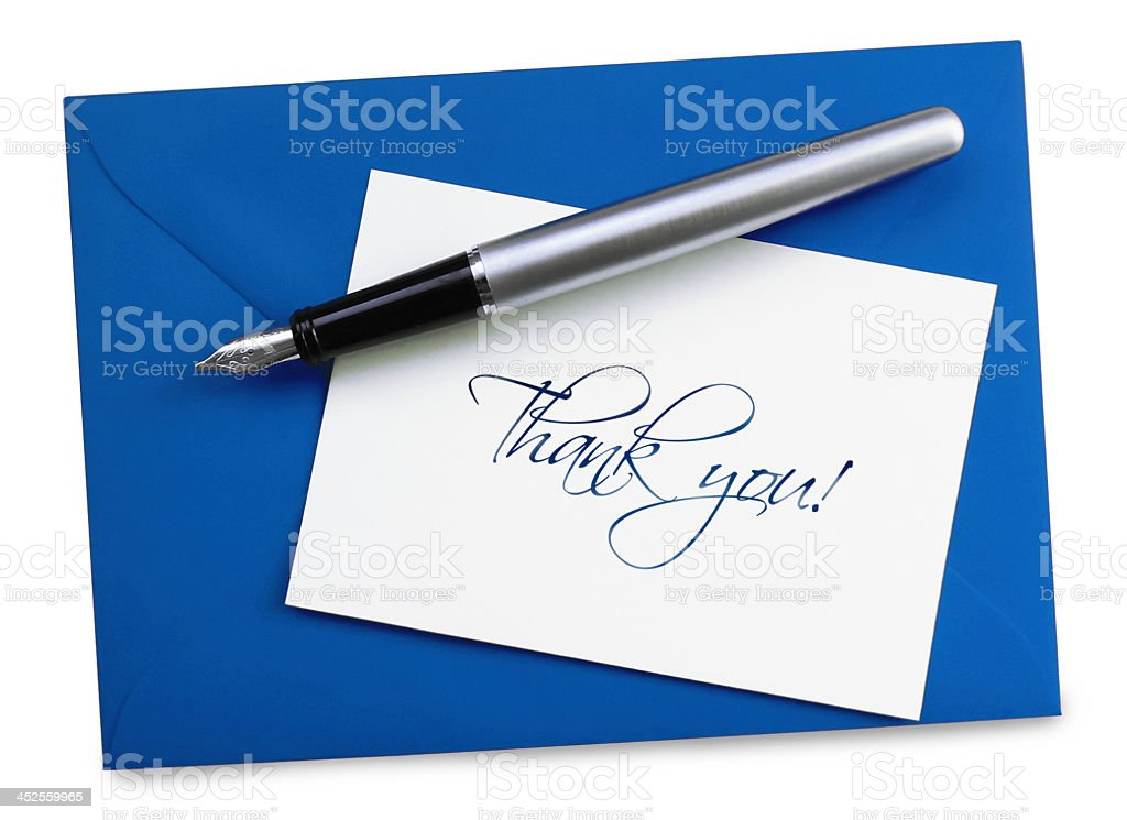 Thank you! stock photo