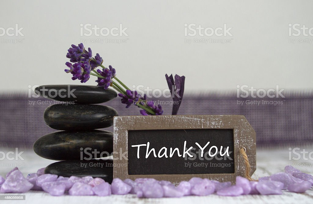 Thank you stock photo
