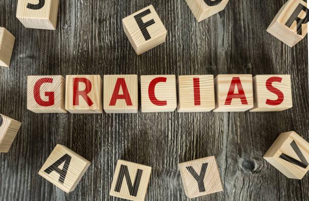 Je vous remercie (en espagnol) - Photo
