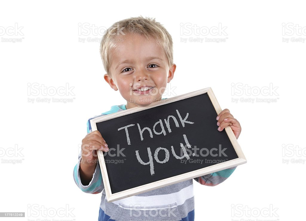 Thank you sign royalty-free stock photo