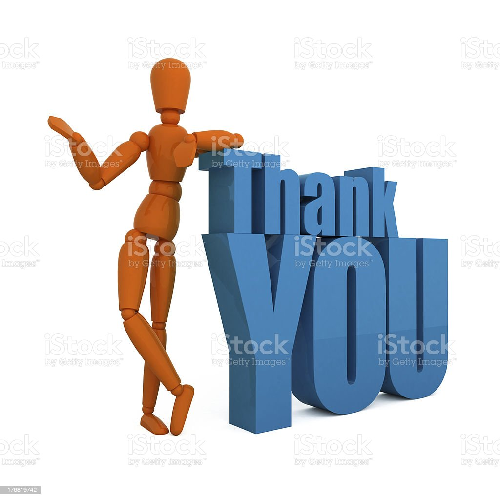 Thank you very much! royalty-free stock photo
