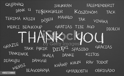 istock Thank you word cloud 493220665