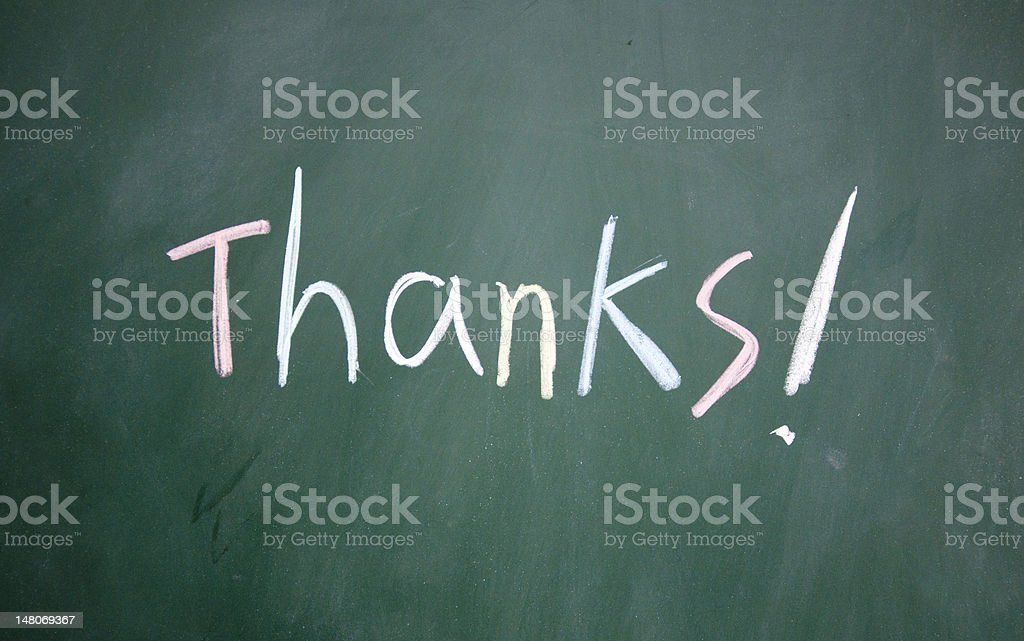 thanks symbol royalty-free stock photo