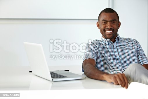 istock Thanks to technology, my client base is constantly increasing! 180753438