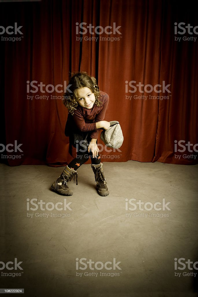 Thanks to the audiencie royalty-free stock photo
