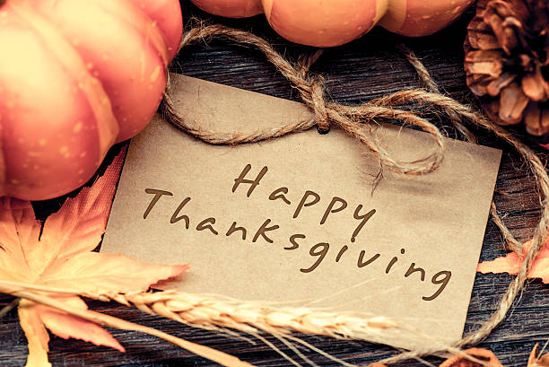 Thanksgiving background, Harvest vintage and country style - foto de stock