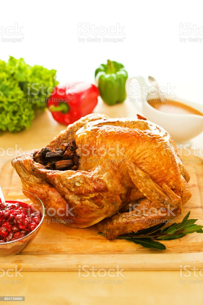 Braten Weihnachten.Thanksgiving Weihnachten Braten Türkei Abendessen Mit Beilagen Drum