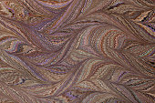 istock Thanksgiving colors Waved Gothic marbled paper 507897831