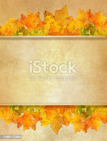 Thanksgiving day card template