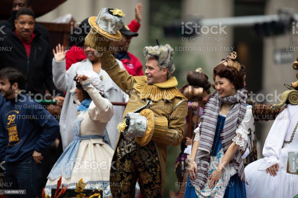 H-E-B Thanksgiving Day Parade stock photo