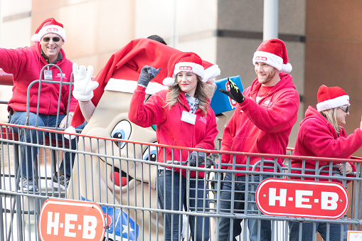 Heb Hours Christmas Eve.Heb Thanksgiving Day Parade Stock Photo More Pictures Of