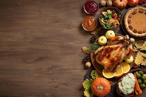 Thanksgiving Dinner background